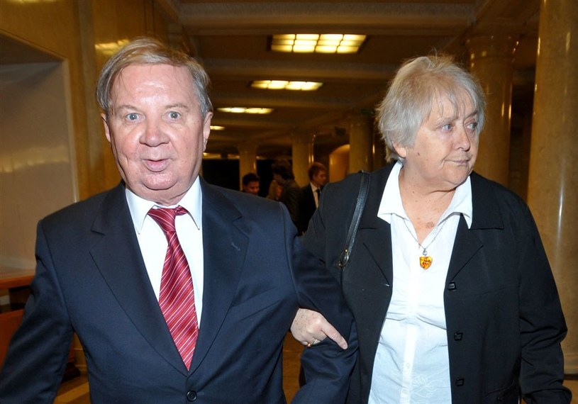 Roman Kłosowski z żoną, Krystyną /Agencja W. Impact