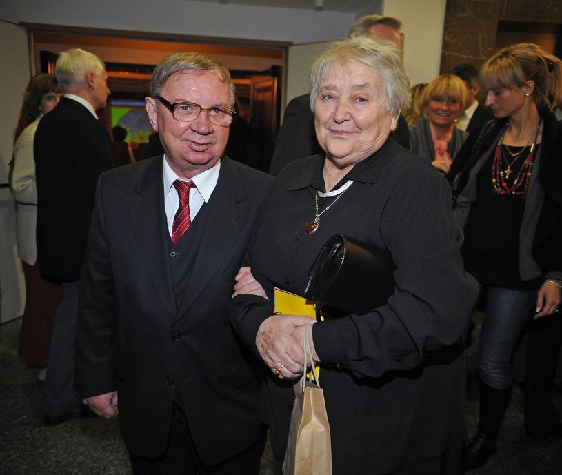 Roman Kłosowski z żoną /East News