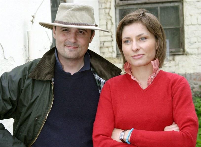 Roman Młodkowski i Katarzyna Trzaskalska /AIM