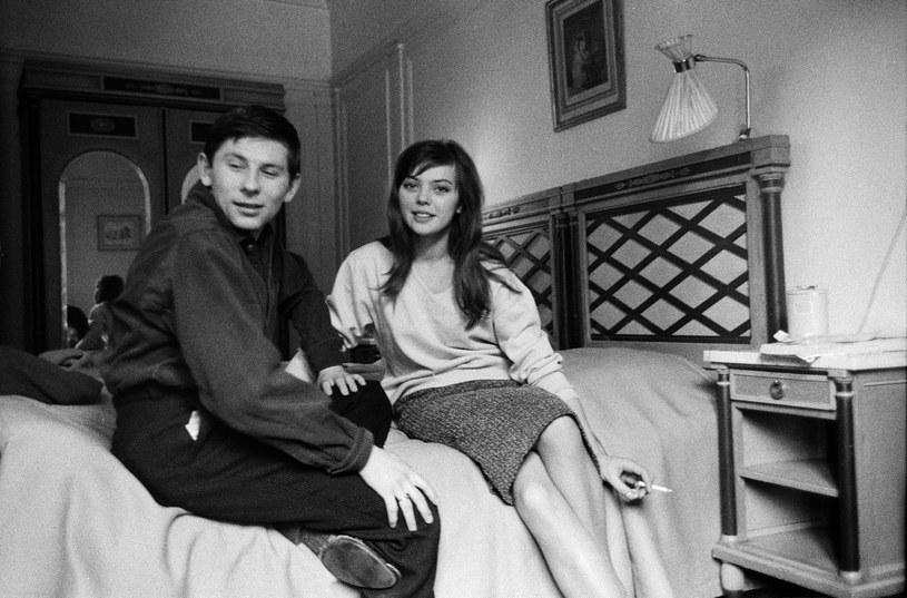 Roman Polanski i Barbara Kwiatkowska-Lass /Władysław Sławny /Agencja FORUM