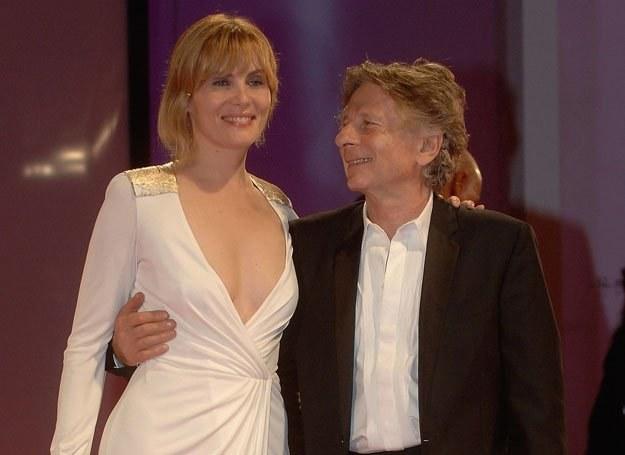 Roman Polanski i jego obecna żona Emmanuelle Seigner /Getty Images/Flash Press Media