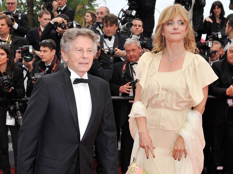 Roman Polański i  Nastassja Kinski podczas festiwalu w Cannes /Getty Images
