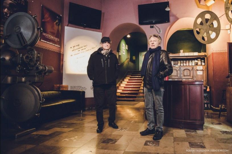 Roman Polański i Ryszard Horowitz w kinie ARS w Krakowie /materiały prasowe