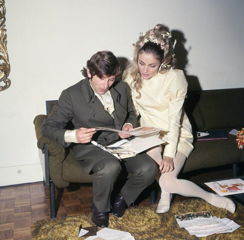Roman Polański i Sharon Tate, 1968 /Roy Cummings /East News
