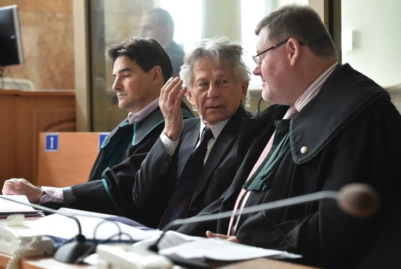 Roman Polański w sądzie /AFP