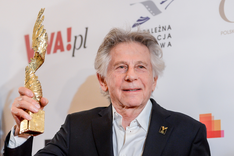 Roman Polański z Nagrodą za film XX-lecia Orłów /Stach Leszczyński /PAP