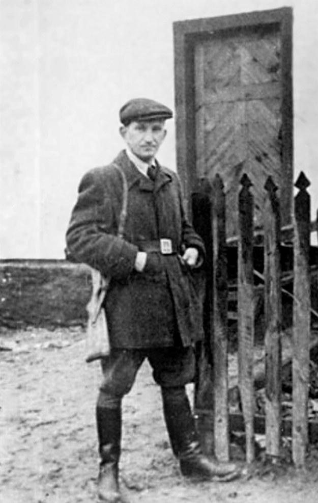 Roman Szuchewycz jest odpowiedzialny za ludobójstwo na Polakach i Żydach /reprodukcja Marek Skorupski /Agencja FORUM