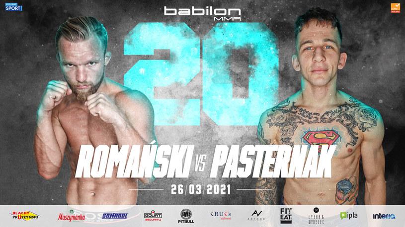 Romański vs Pasternak /mat.prasowe /materiały prasowe