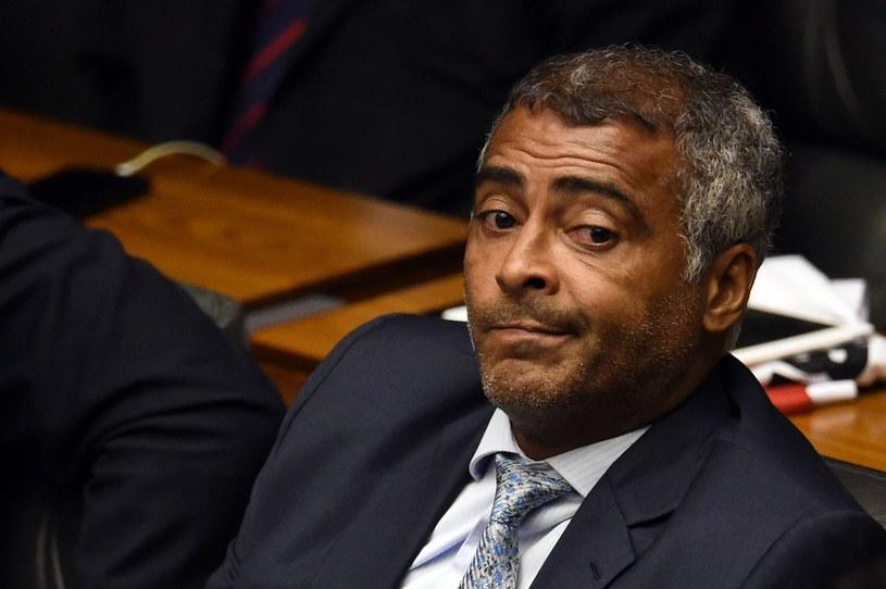 Romario jest obecnie senatorem /AFP