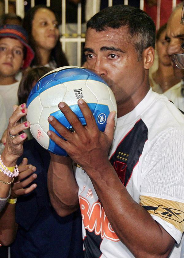 Romario to jeden z najlepszych napastników w historii brazylijskiego futbolu /AFP