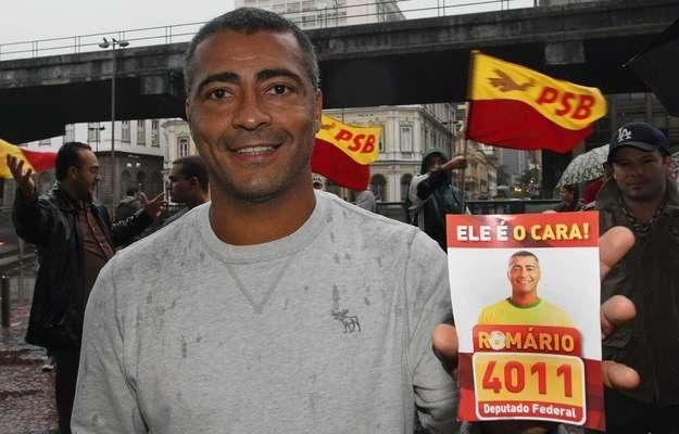 Romario został wybrany do Izby Deputowanych /AFP