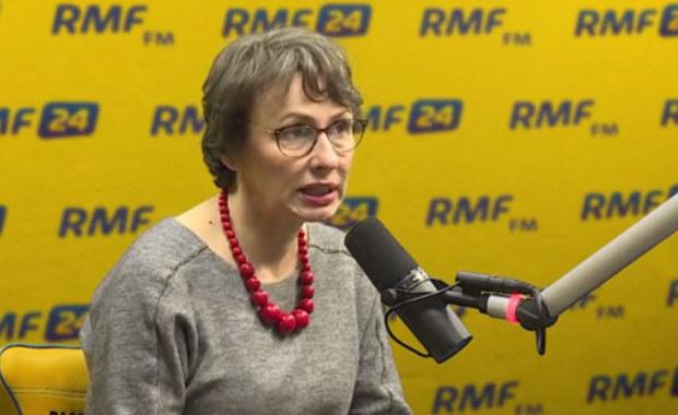 Romaszewska-Guzy: Manifestowanie dzisiaj, w rocznicę stanu wojennego, uważam za absurdalne