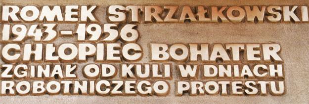 Romek Strzałkowski jest symbolem Czerwca'56 /FILIP SPRINGER /Agencja FORUM