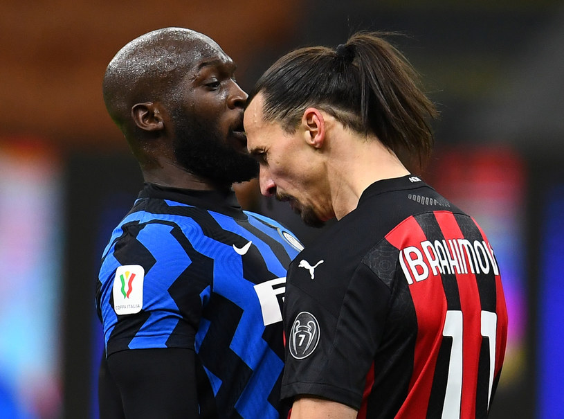 Romelu Lukaku i Zlatan Ibrahimović /Claudio Villa /Getty Images