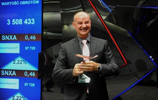 Romuald Kalyciok, prezes Sunex S.A. /PAP