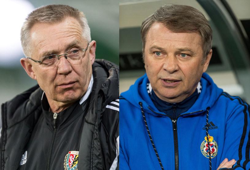 Romuald Szukiełowicz i Tadeusz Pawłowski /Maciej Kulczyński /PAP
