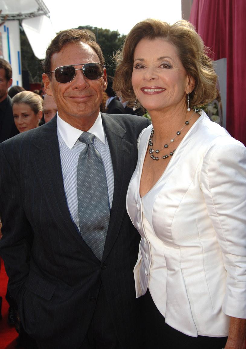 Ron Leibman z żoną Jessiką Walter /Jeff Kravitz/FilmMagic /Getty Images