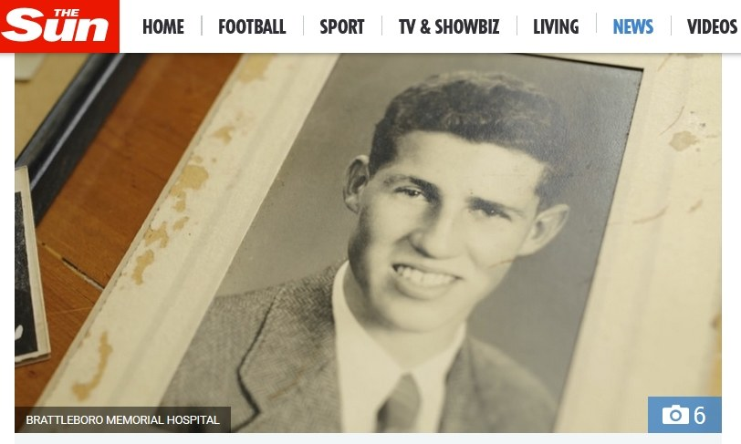 Ronald Read służył w armii podczas II wojny światowej /