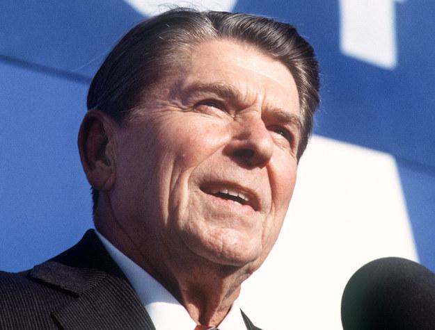 """""""Ronald Reagan nigdy nie udawał, że PRL to wolna Polska"""" /DON RYPKA /AFP"""