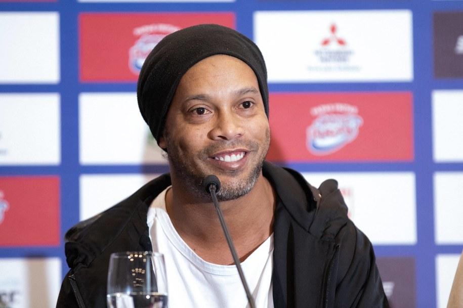 Ronaldinho /AA/ABACA /PAP/EPA