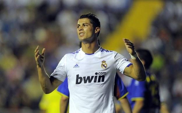 Ronaldo był potwornie nieskuteczny w meczu z Levante /AFP