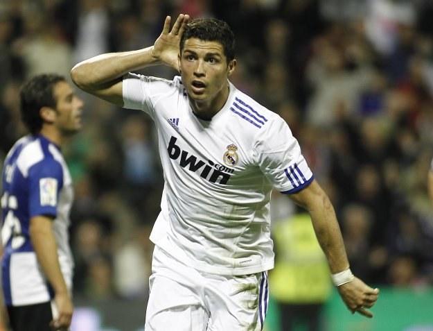 Ronaldo fetuje gola na 2-1. /AFP