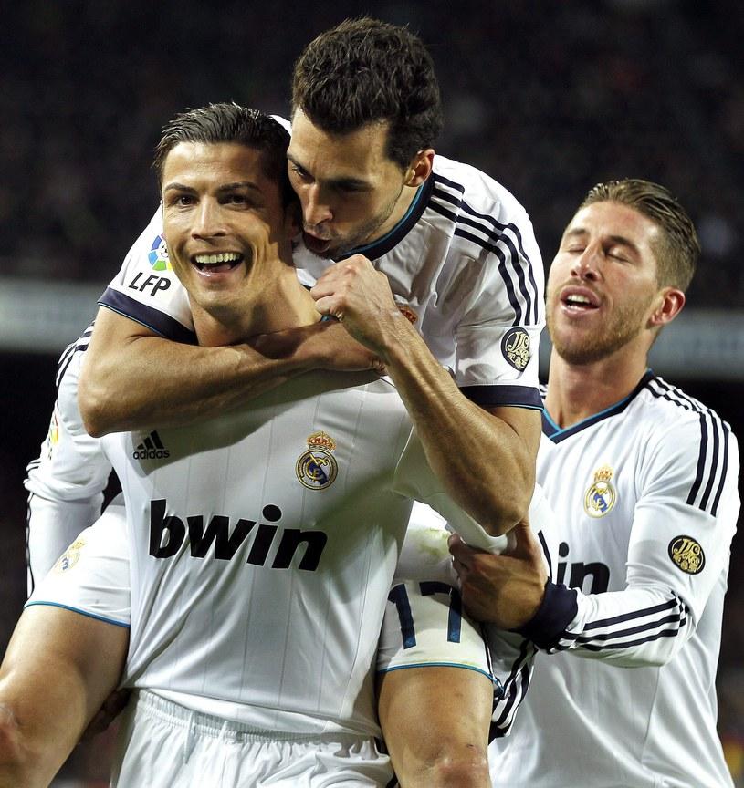Ronaldo i jego koledzy mają patent na Barcelonę /PAP/EPA