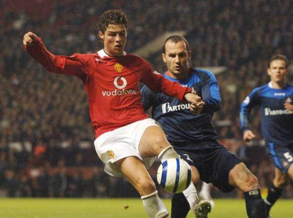 Ronaldo (na pierwszym planie) został aresztowany /AFP
