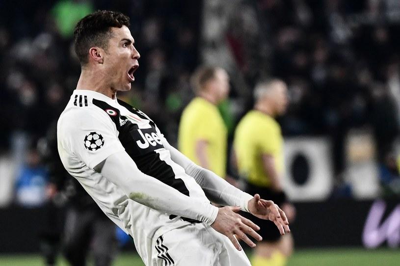 Ronaldo podczas meczu z Atletico Madryt /AFP