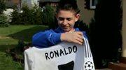 Ronaldo spełnił marzenie polskiego chłopca wybudzonego ze śpiączki