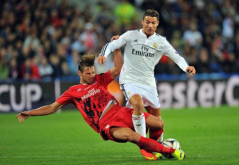 Ronaldo tym razem będzie kibicował drużynie Krychowiaka /AFP