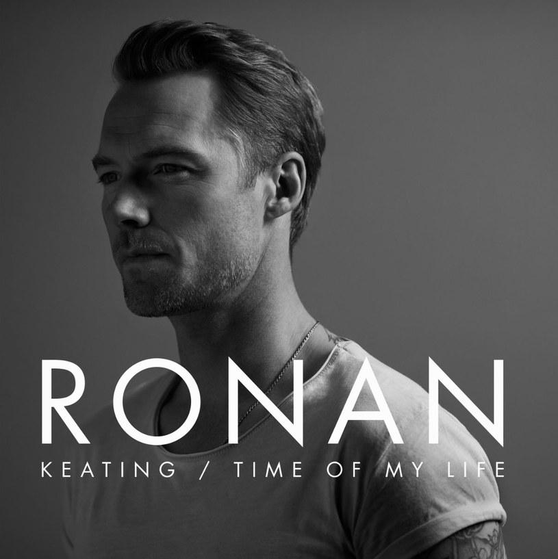 "Ronan Keating na okładce płyty ""Time Of My Life"" /"