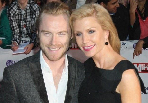 Ronan Keating z żoną Yvonne fot. Chris Jackson /Getty Images/Flash Press Media