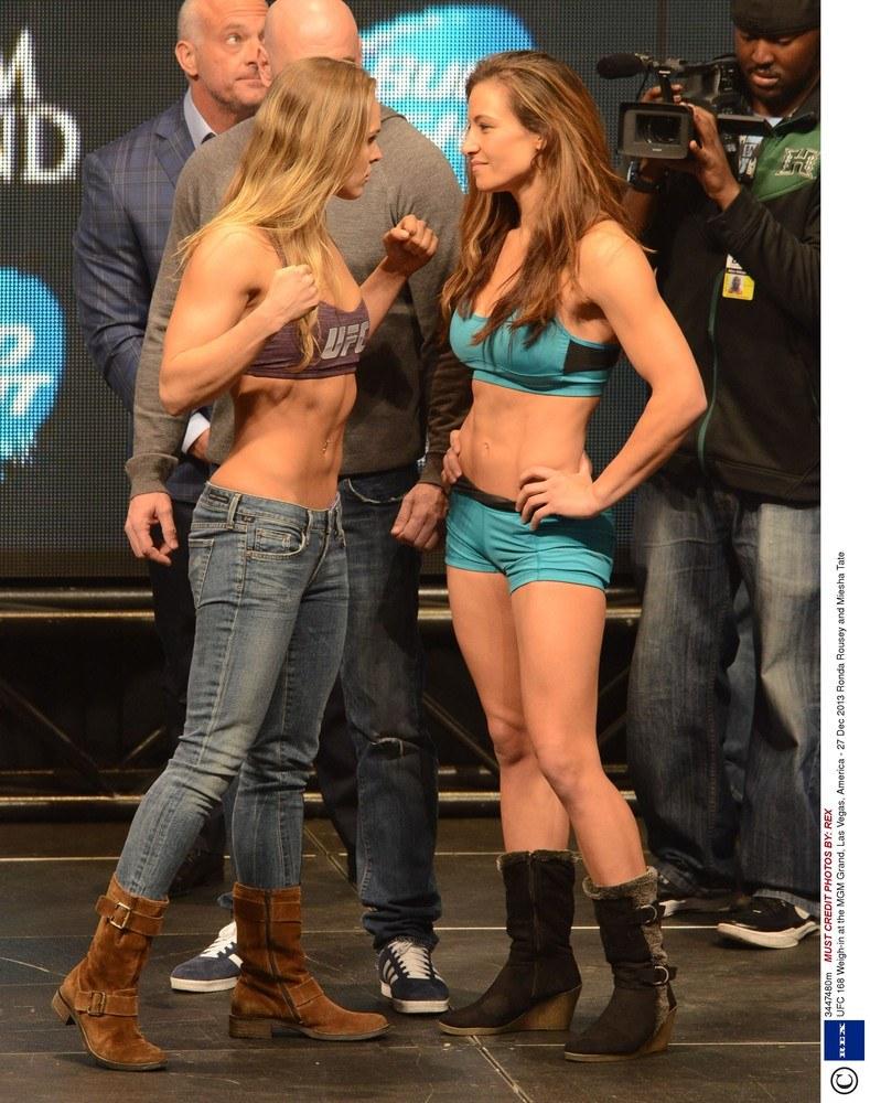 Ronda Rousey i Miesha Tate /East News