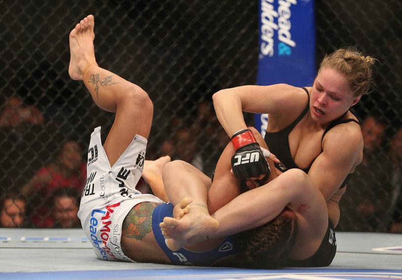 Ronda Rousey w akcji /AFP