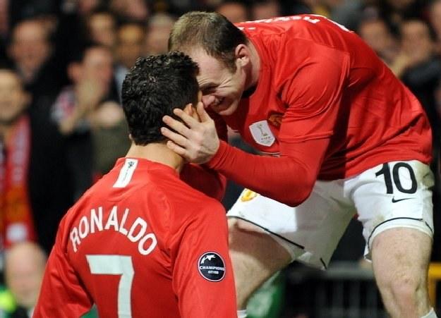 Rooney i Ronaldo znów zagrają w jednej drużynie /AFP