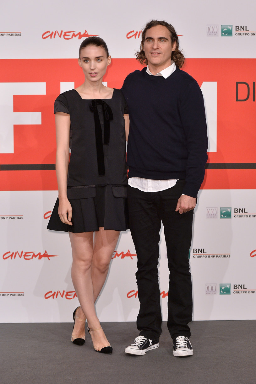 Rooney Mara i Joaquin Phoenix /Tullio M. Puglia /Getty Images