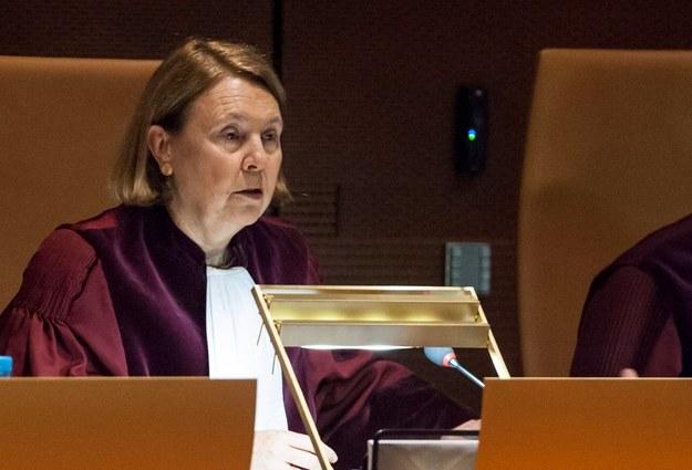 Rosario Silva de Lapuerta kończy kadencję / NICOLAS BOUVY    /PAP/EPA