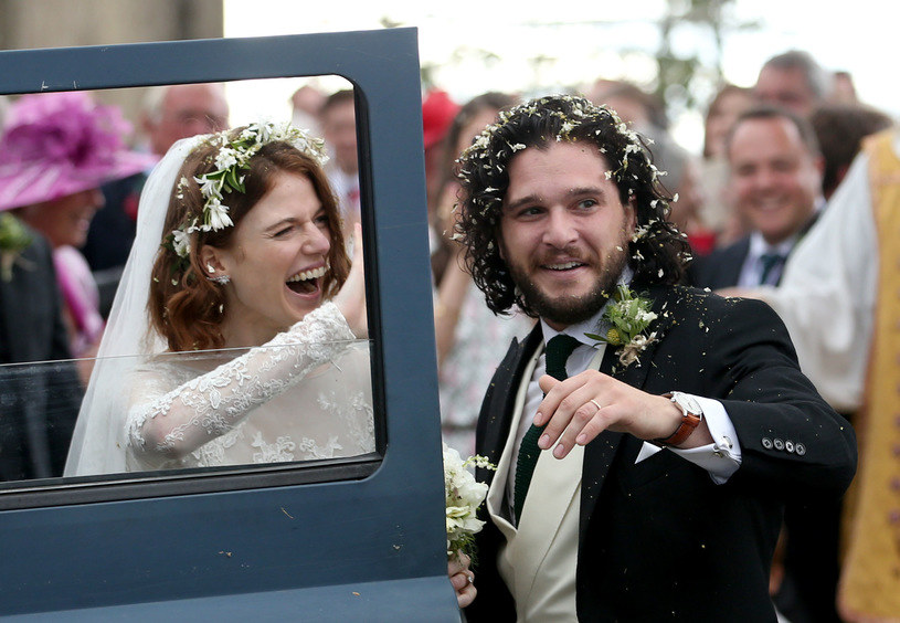 Rose Leslie, Kit Harington /Jane Barlow/PA Images /Getty Images