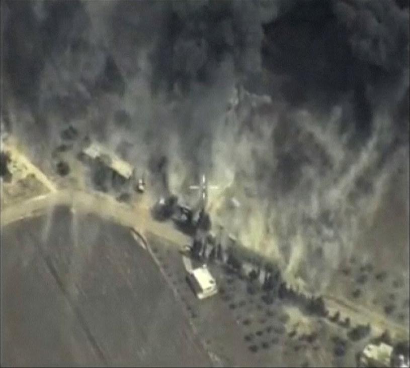 Rosja bombarduje cele w Syrii /Agencja FORUM
