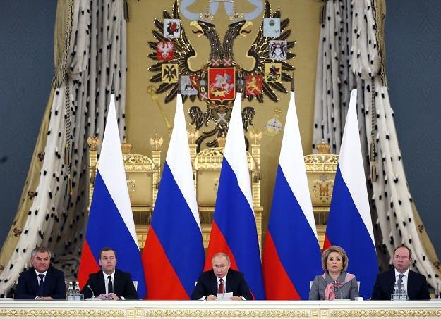 Rosja chce większej intergacji z Białorusią /AFP