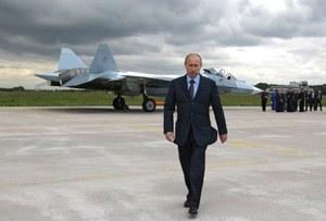 Rosja chwali się myśliwcem piątej generacji T-50