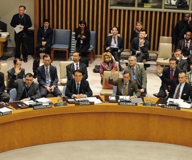 Rosja i Chiny zablokowały rezolucję w sprawie Syrii