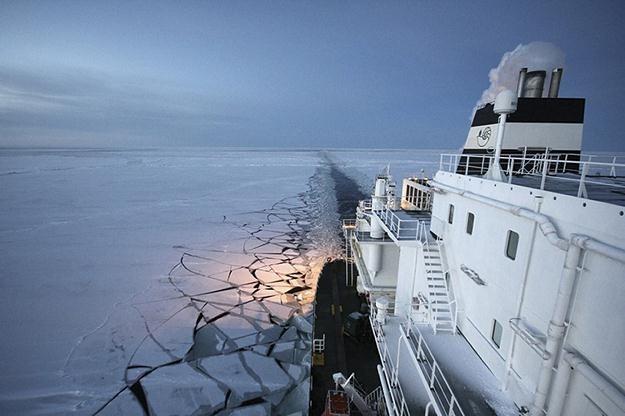 Rosja i Norwegia liczą na bogactwa Arktyki /AFP