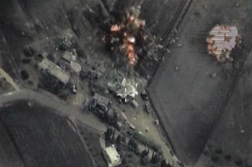Rosja kiontynuuje naloty w Syrii /Agencja FORUM