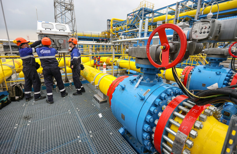 Rosja mogłaby zrobić więcej, aby zwiększyć dostępność gazu w Europie /SPUTNIK Russia / Pavel Lvov  /East News