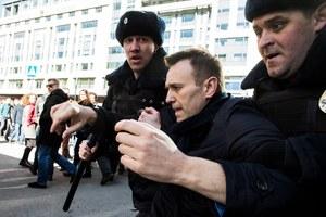 Rosja: Nawalny ukarany za organizację protestu w Moskwie