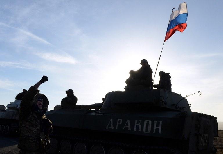 """""""Rosja, posługując się służalczymi instytucjami w Polsce, próbuje za wszelką cenę pokazać, że wszyscy w regionie akceptują aneksję Krymu"""" /AFP"""