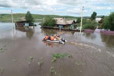 Rosja. Powodzie na Dalekim Wschodzie i pożary tajgi na Syberii