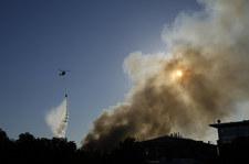 Rosja: Pożar w magazynie materiałów pirotechnicznych